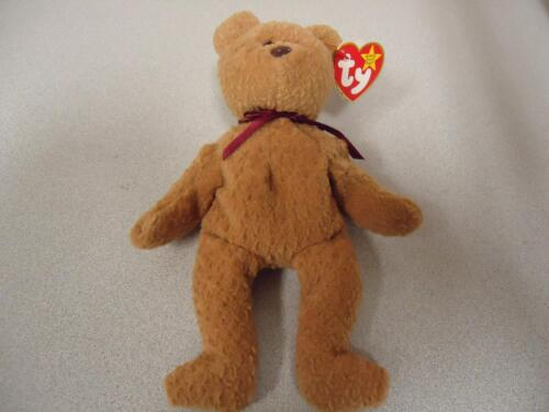 18c6243ac15 Rare Curly Bear TY Beanie Baby 1993 with 11 Errors New with Mint Tags  Retired