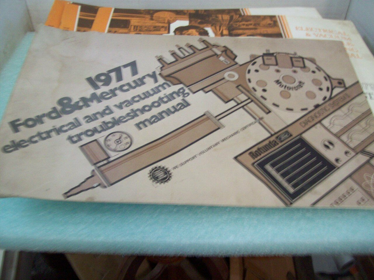 1977 Ford & Mercury Electrical Vacuum Trouble Shooting Manual