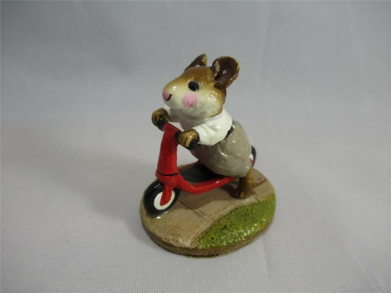 Wee Forest Folk Scooter Mouse Tan Pants - Retired WFF