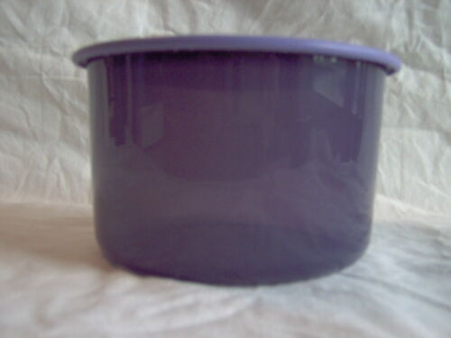 """TUPPERWARE ONE TOUCH TOPPER JUNIOR SHORT """"B"""" CANISTER #2708 Sheer Purple"""