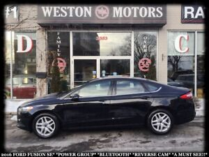 2016 Ford Fusion SE*POWER GROUP*BLUETOOTH*REVERSE CAM*A MUST SEE