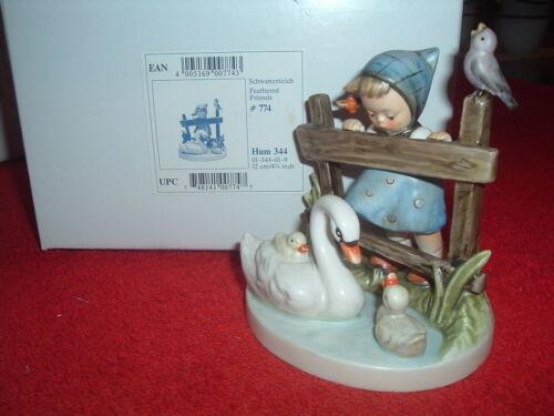 HUMMEL  Feathered Friends, #344, TMK-7, NEW, Mint, Original Box