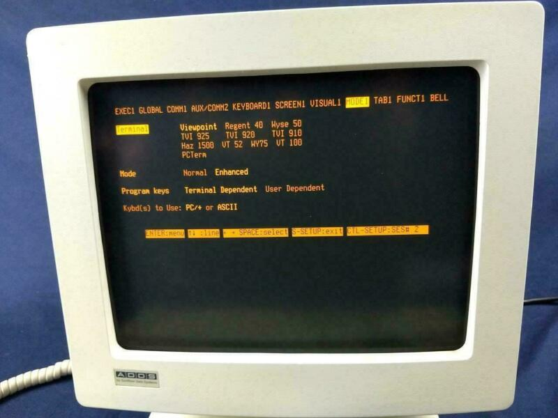 ADDS  4000 general purpose terminal.