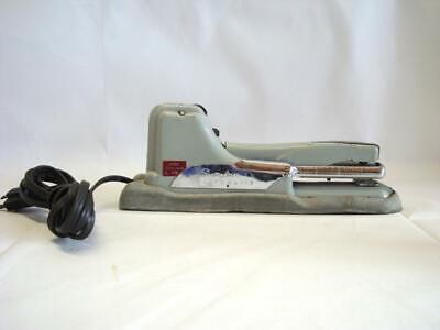 Vintage Silver Swingline Automatic Stapler Model 66-a
