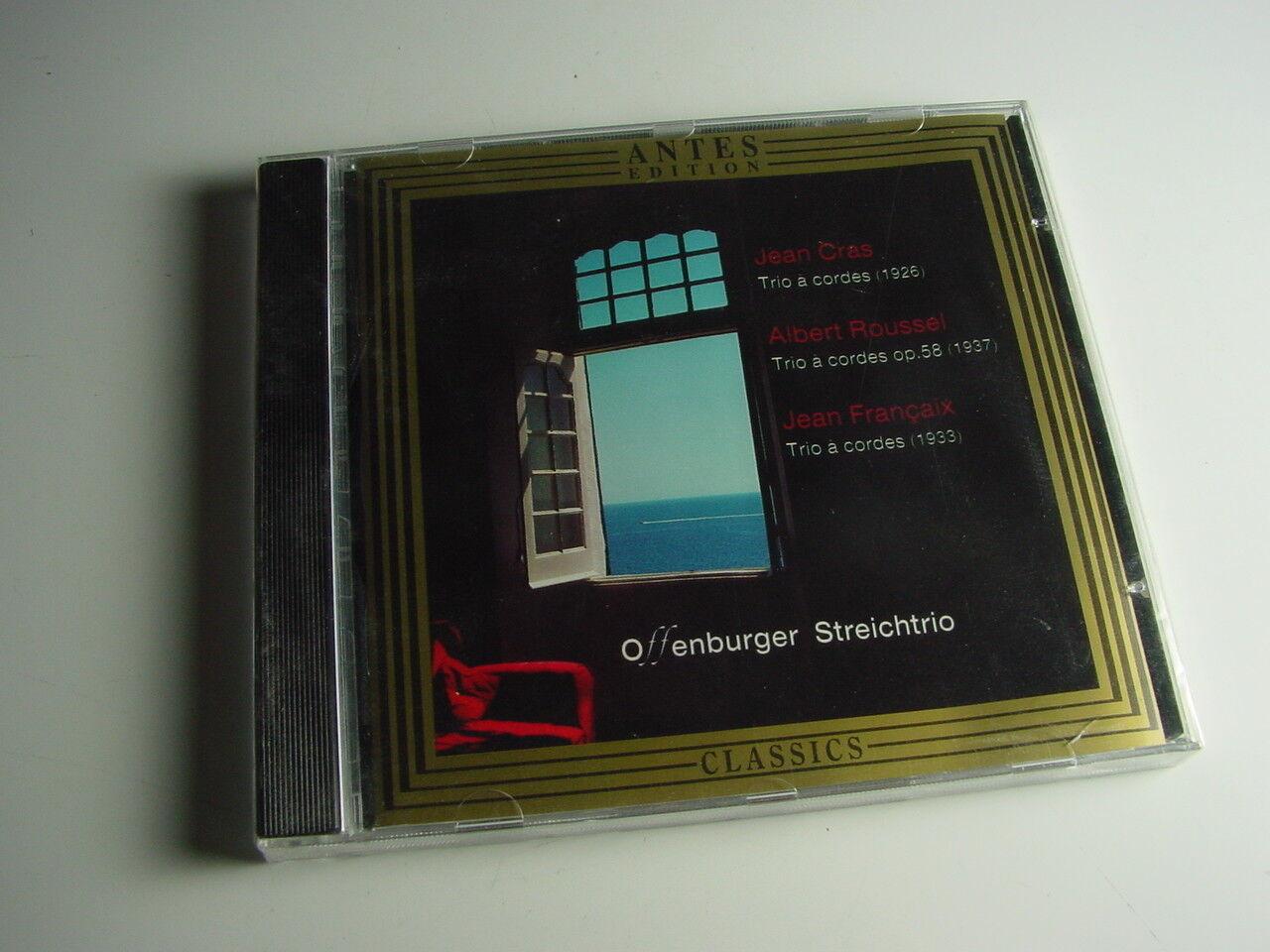 Offenburger Streichtrio, Neue Cd Original Verpackt. Grass, Roussel, Francaix.