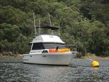 Flybridge Fiberglass Cruiser 31ft Mariner Diesel Shaft Drive Sydney City Inner Sydney Preview
