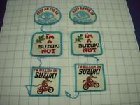 """NOS Vintage Keep An Eye On Suzuki Patch 3-1//2/"""" x 3/"""""""