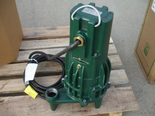 Zoeller E820-F Grinder Submersible Water Pump 820-0004 2HP, 230 V, 1 phase NEW