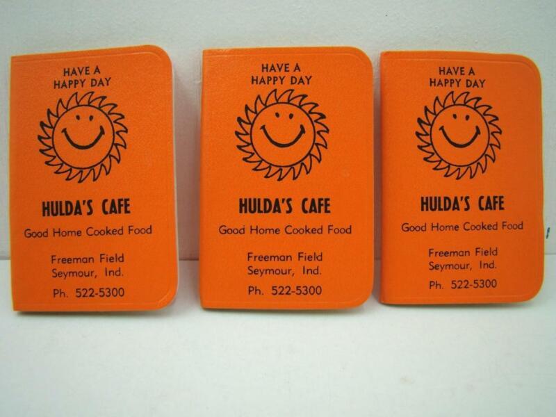 3 SEYMOUR INDIANA HULDAS CAFE 1973 ADDRESS BOOKS