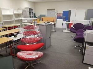 Office Furniture Chairs Filing Cabinets Desks Partitions Pinboard Kenwick Gosnells Area Preview