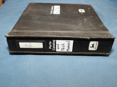 John Deere 762 Parts And Technical Manual