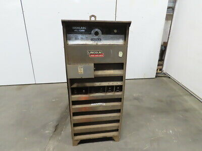 Lincoln Electric Idealarc Ac1200 Variable Voltage Ac Welding Auto. Power Source