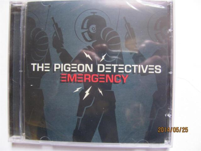 Pigeon Detectives - Emergency   CD 2008    new