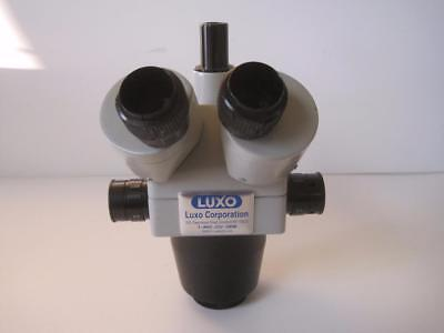 Luxo Stereo Zoom Microscope Trinocular Used Works Great No Eyepieces