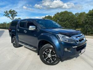 2014 Isuzu D-MAX MY15 LS-M Crew Cab Blue 5 Speed Sports Automatic Utility Cooroy Noosa Area Preview