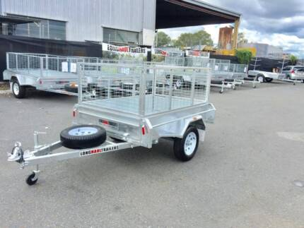 PREMIUM 6x4 Box Trailer  600mm Cage, Fully Welded 100% Galvanised Sumner Brisbane South West Preview