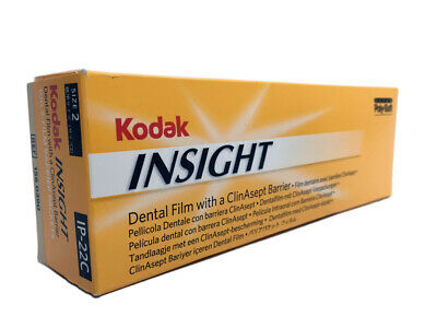 Kodak Insight Dental Film With A Clinasept Barrier Ip-22c Ip-22 2 100 Pack
