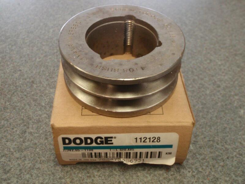DODGE 2/3V2.65-1108  SHEAVE 112128 *NEW*