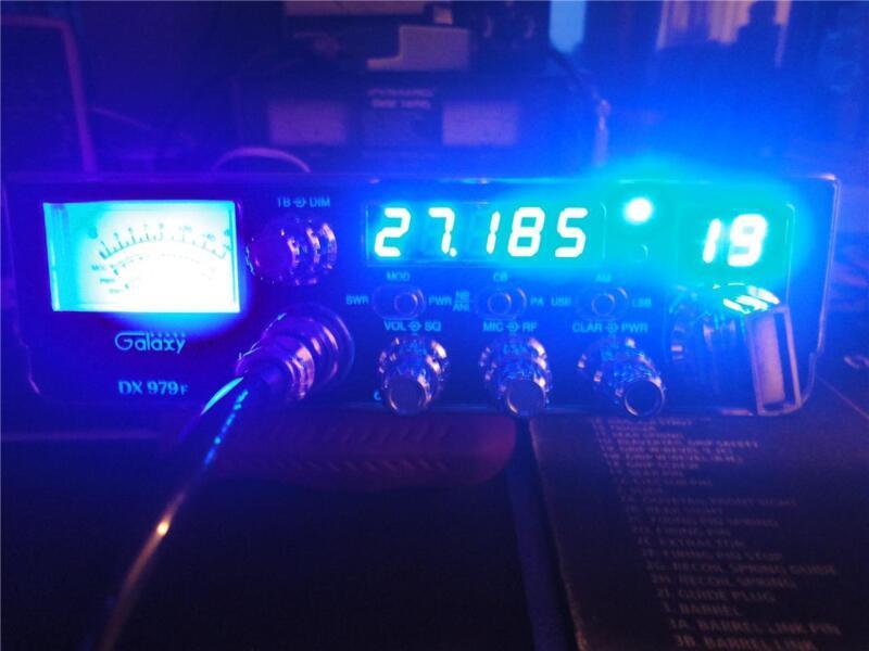 GALAXY DX-979F 40 CH CB,AM/SSB,35-40 WATTS OUTPUT ((SKIP TALKING^^^SKY WALKER))
