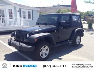 2014 Jeep Wrangler Sport- $187 B/W 3.6L ENGINE...4X4...SATELLITE