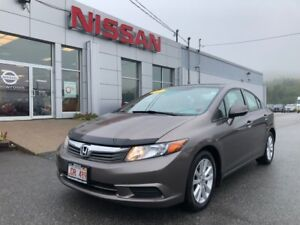2012 Honda Civic Sdn EX   $87 BI WEEKLY