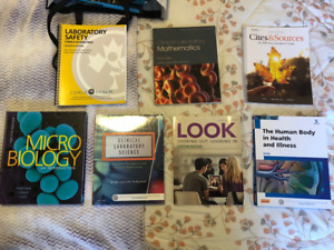 Medical lab books,  first year  new/likenew condition