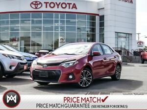 2015 Toyota Corolla S: LEATHER, NAV, SMART KEY FULLY LOADED AND