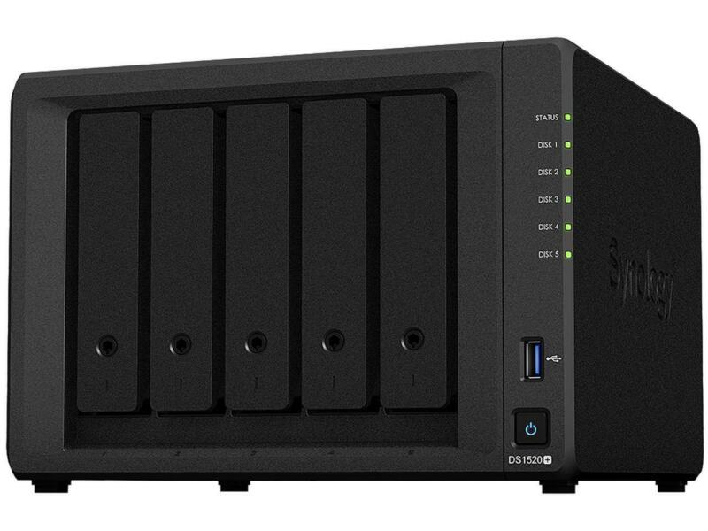 Synology 5-bay NAS DiskStation DS1520+ (Diskless)