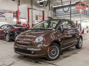 2015 Fiat 500 LOUNGE CONVERTIBLE *19,000 KM! +JAMAIS ACCIDENTÉ!*