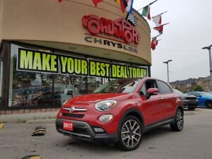 2017 Fiat 500 TREKKING P-ROOF B-TOOTH REAR CAM