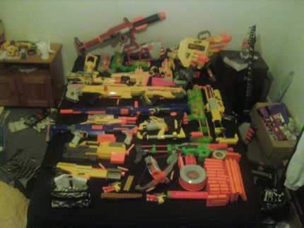 BIG Nerf gun lot