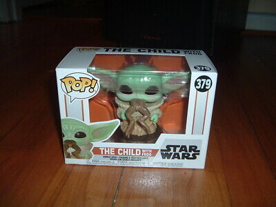 FUNKO POP! THE CHILD WITH FROG #379~ MINT~ STAR WARS MANDALORIAN SERIES~