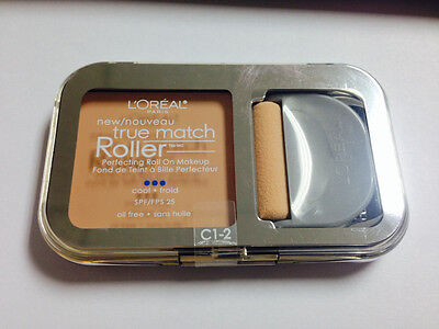 L'Oreal true match roller perfecting roll on makeup cool 1-2 spf 25