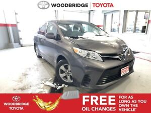 2018 Toyota Sienna LE|SAFETY-SENSE|R-CAM|H-SEATS|LOW KMS