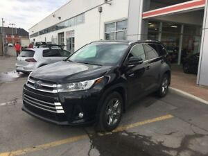 2018 Toyota Highlander Hybrid Limited AVAILABLE TO LEASE OR FINA