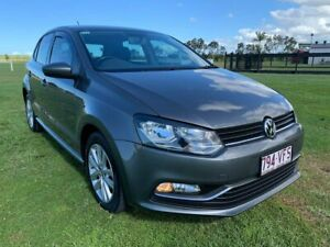 2014 Volkswagen Polo 6R MY15 81TSI DSG Comfortline Grey 7 Speed Sports Automatic Dual Clutch Woongoolba Gold Coast North Preview