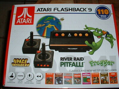 Atari Flashback 9 HDMI Game Console 110 Games NEW