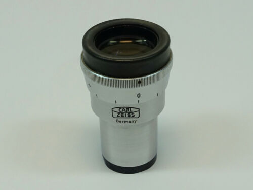 Carl Zeiss Kpl-W 10x Microscope Eyepiece; Excellent Condition