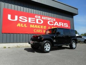 2013 Jeep Wrangler Unlimited SAHARA Unlimited Automatic