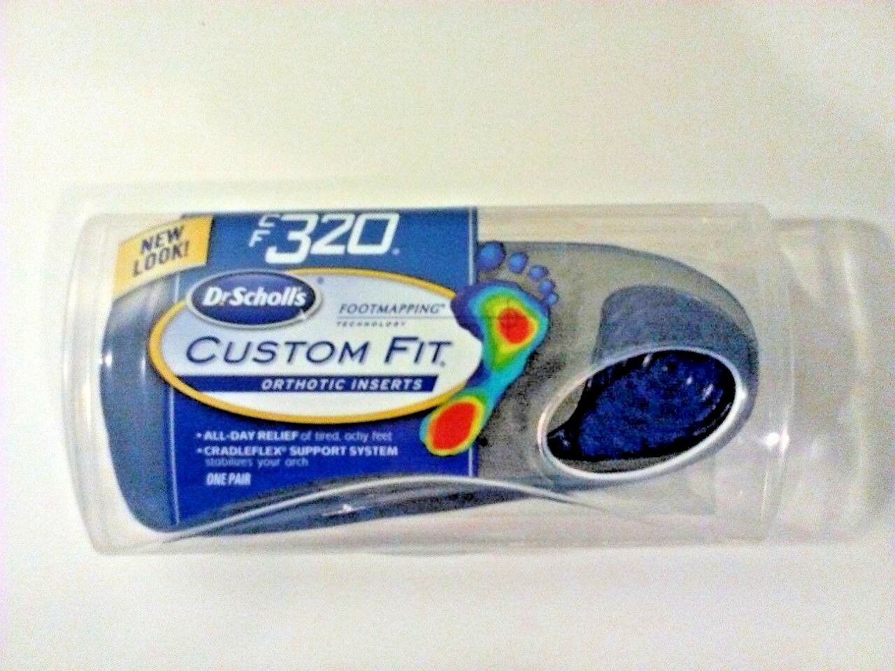 Dr. Scholls Custom Fit Orthotic Inserts, Cf 320