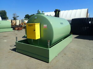 Unused Emiliana Serbatoi TF9/50 9000L Bunded Steel Refueling Tank 6/7259-70 Midland Swan Area Preview