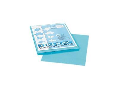 Pacon 103007 Tru-ray Construction Paper 76 Lbs. 9 X 12 Turquoise 50 Sheetsp