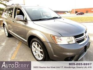 2012 Dodge Journey Crew 5 Pass **CERTIFIED ACCIDENT FREE** $8999