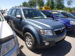 2011 Mazda Tribute GX TOUTE EQUIPE 4CYL 4WD AUT MAGS BAS KM