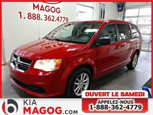 2014 Dodge Grand Caravan SXT / JAMAIS ACCIDENTÉ / DVD / STOW N'
