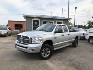 2008 Dodge Ram 3500 Laramie 8'BOX DIESEL!! CERTIFIED!!