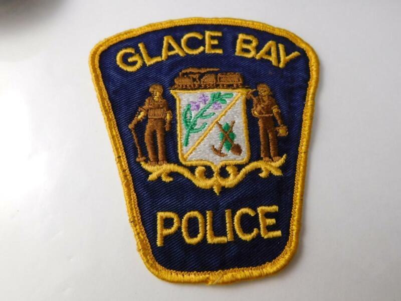 GLACE BAY POLICE VINTAGE PATCH BADGE ONTARIO CITY CANADA COLLECTOR