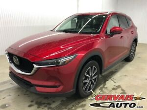 2017 Mazda CX-5 GT Tech Pack AWD GPS Cuir Toit Ouvrant Mags
