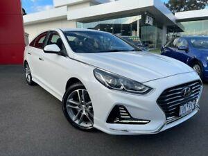 2019 Hyundai Sonata LF4 MY19 Active Hyper White 8 Speed Sports Automatic Sedan