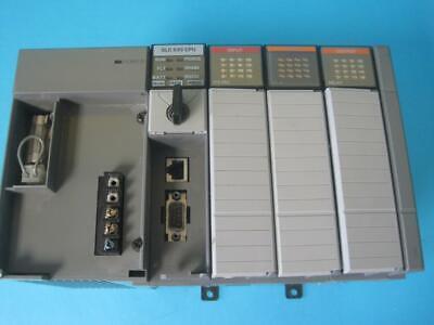 Allen Bradley Slc 500 Processor Unit 4 Slot 1746-a4 1746-p2 1746-ia16 2 Ow16